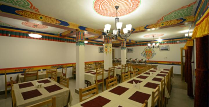 Mahey Retreat Hotel Leh Restaurant